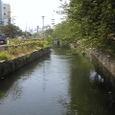 公園そばの川