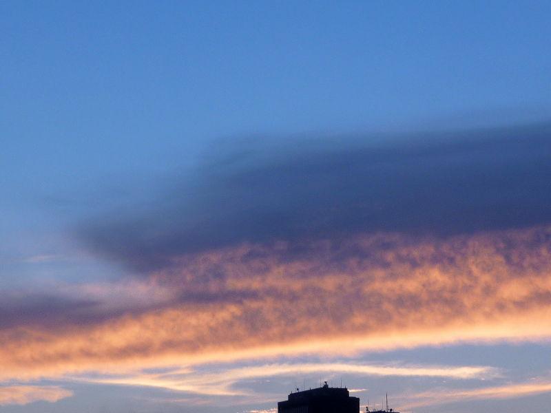 夕焼け空のフシギ☆フシギ