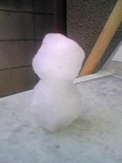 Fw:雪だるま